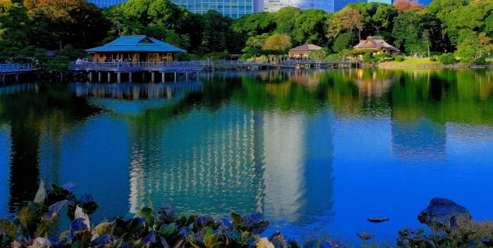 浜離宮恩賜庭園で観た景観.10月03日更新_a0150260_20100721.jpg