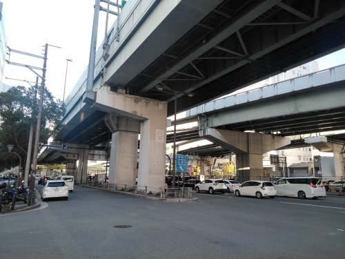 阪神高速 阿波座西行付加車線 大規模改修工事を計画中か?_c0340867_23282003.jpg