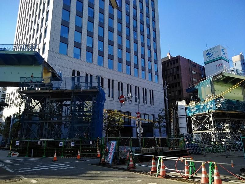 阪神高速 阿波座西行付加車線 大規模改修工事を計画中か?_c0340867_23413250.jpg
