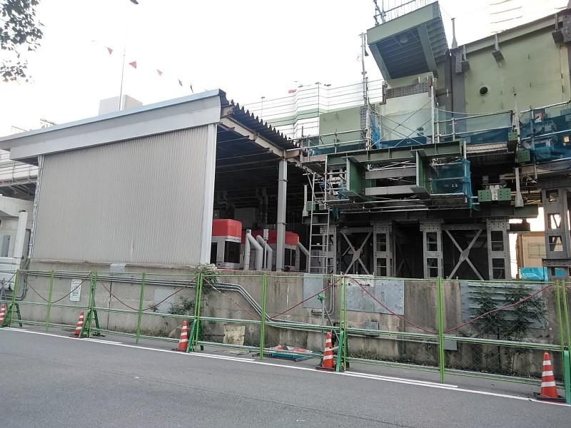阪神高速 阿波座西行付加車線 大規模改修工事を計画中か?_c0340867_23414297.jpg