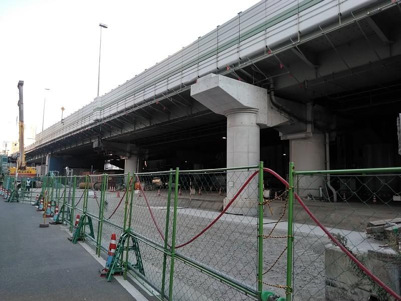 阪神高速 阿波座西行付加車線 大規模改修工事を計画中か?_c0340867_23415446.jpg
