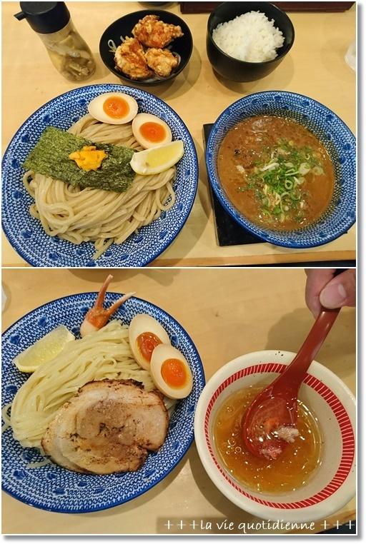 ラーメンが食べたい!!ズワイガニとウニのつけ麺と台湾まぜ蕎麦_a0348473_05523891.jpg