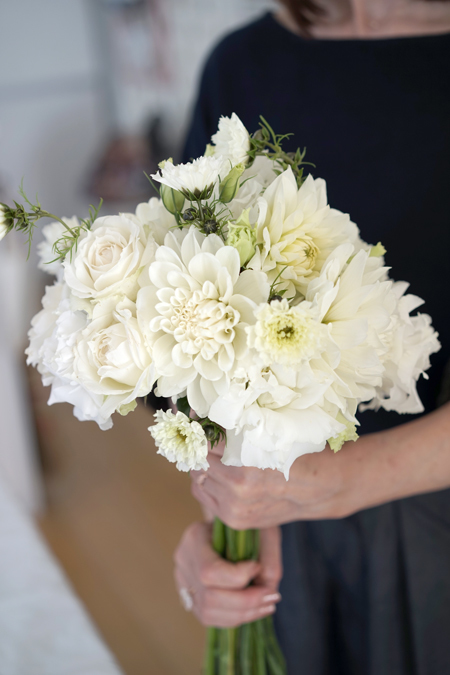 10月のレッスン white bouquet_f0127281_12082488.jpg