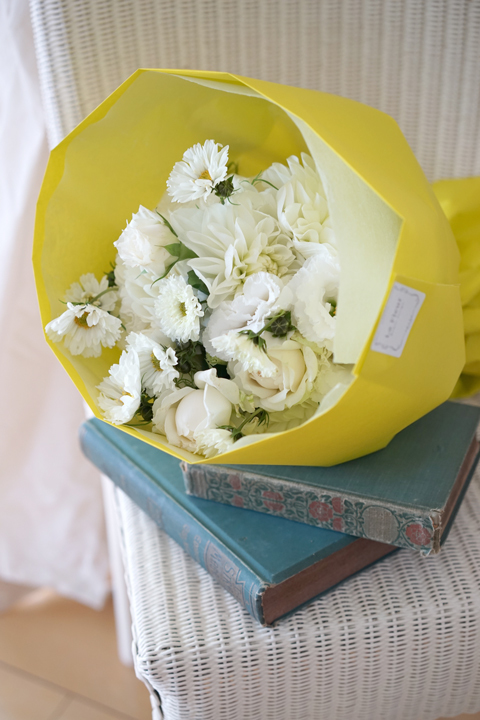 10月のレッスン white bouquet_f0127281_12091766.jpg