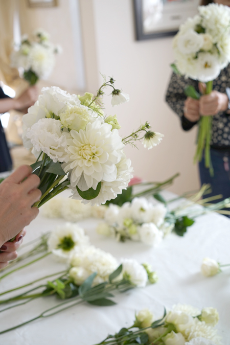 10月のレッスン white bouquet_f0127281_12094060.jpg