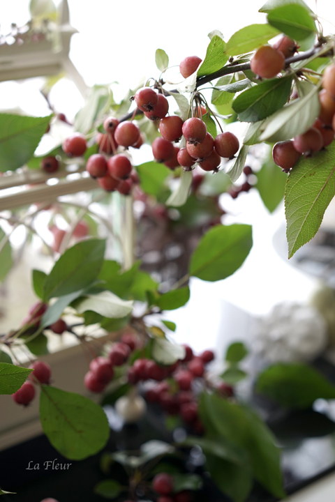 10月のレッスン お出迎えの花飾り_f0127281_17464512.jpg