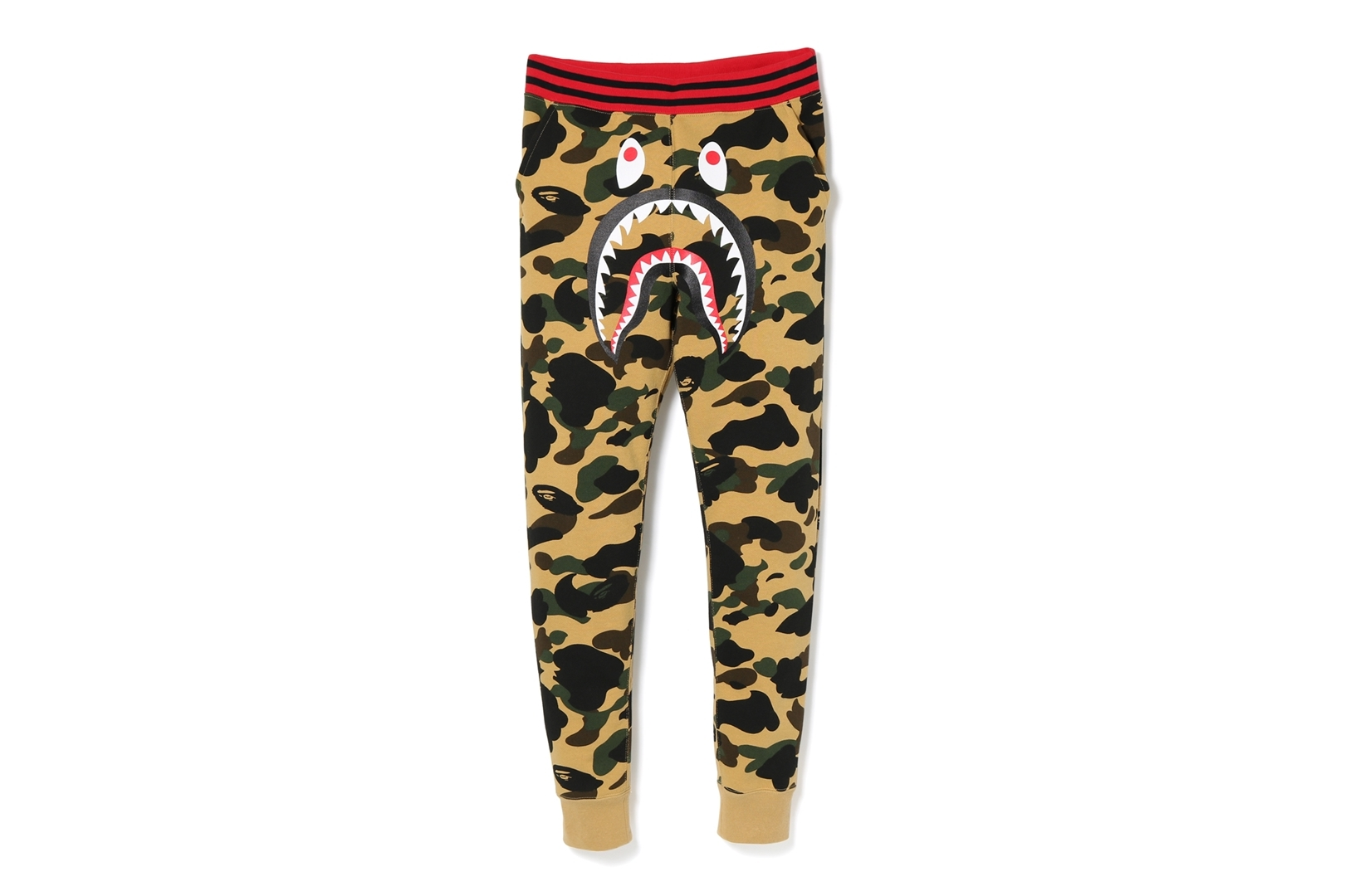 1ST CAMO SHARK SLIM SWEAT PANTS_a0174495_17334913.jpg