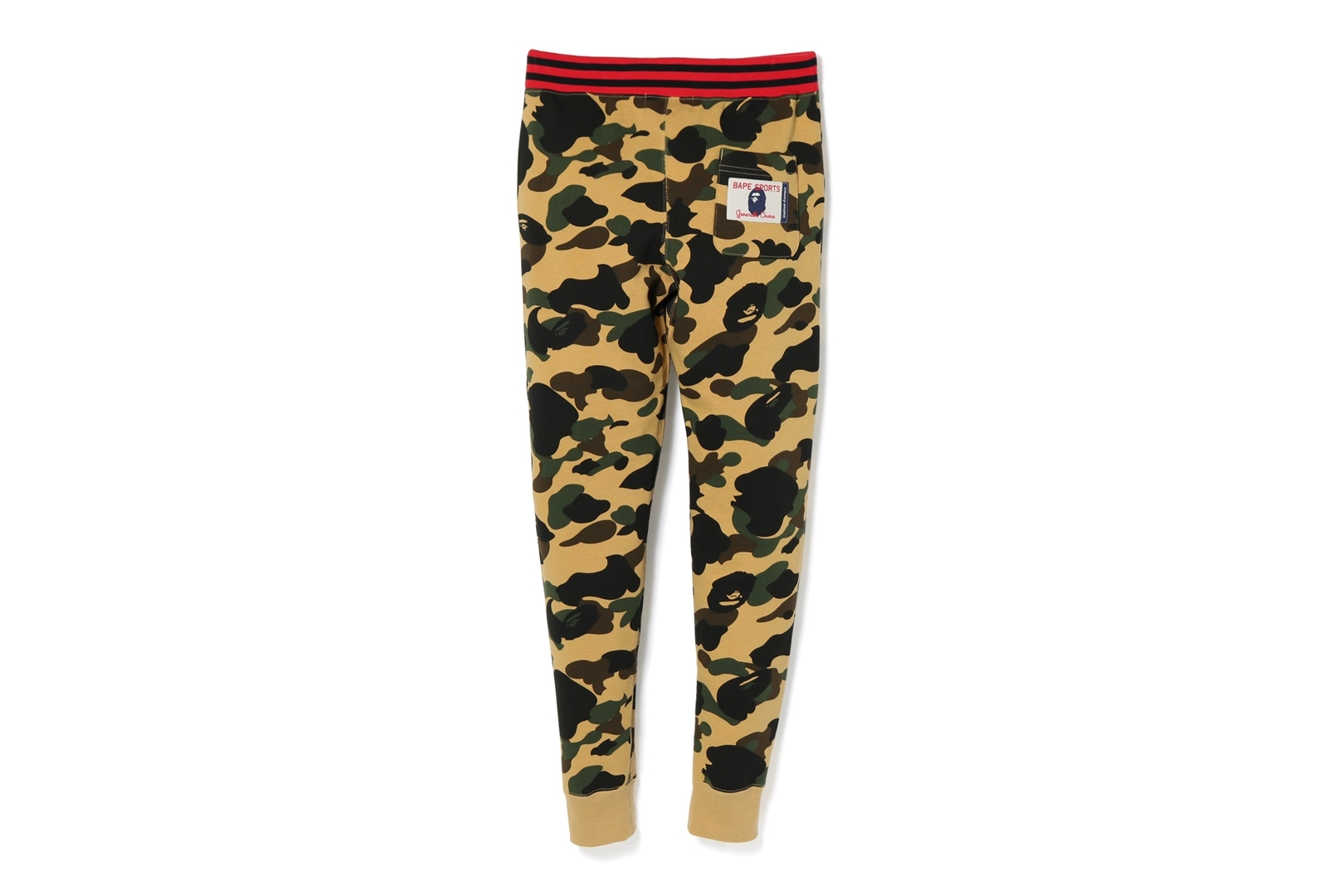1ST CAMO SHARK SLIM SWEAT PANTS_a0174495_17335802.jpg