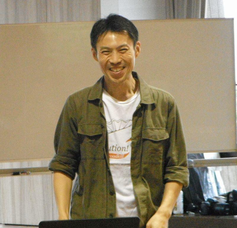 岡田宗徳さんによる「やんばるの動物 お絵かき教室」_f0121321_12512519.jpg