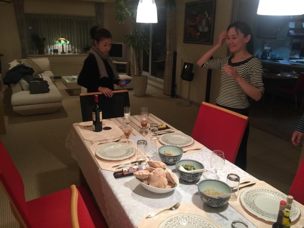K氏宅で夕食_f0209434_10091903.jpg