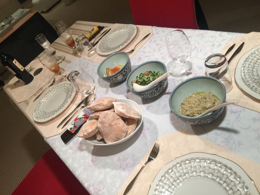 K氏宅で夕食_f0209434_10091970.jpg