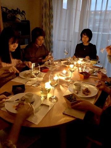 【秋の夜長に~伊と和の融合カジュアルお茶事】_e0078071_21443073.jpg