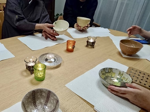 【秋の夜長に~伊と和の融合カジュアルお茶事】_e0078071_21482207.jpg