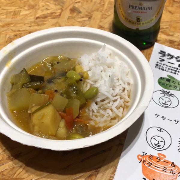 キッチンスタジオペイズリー香取薫先生の一日食堂「ラクシュミー食堂」へ行ってきました_e0145685_15082327.jpg