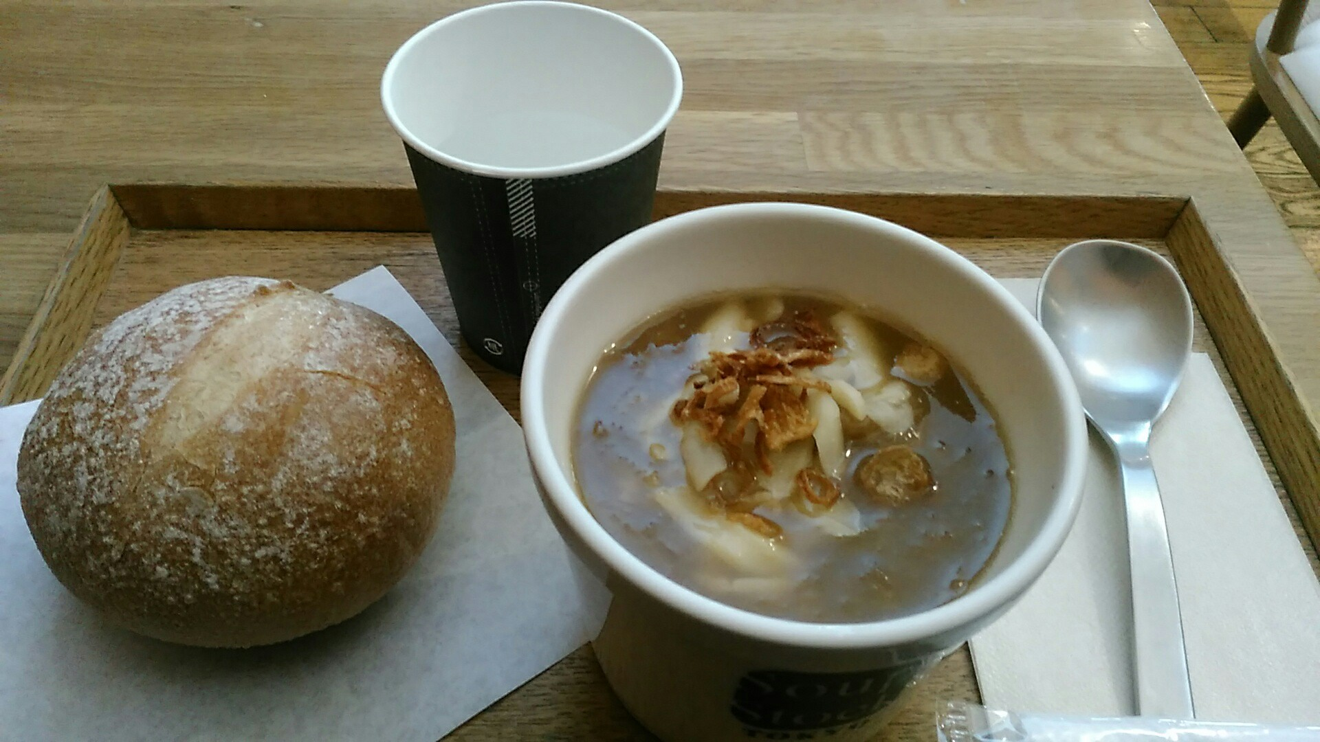 Soup Stock Tokyo 『ゴッホの玉葱のスープ 』_a0326295_13201619.jpg