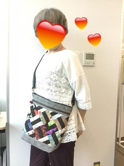 『 柴田輝子のパッチワークキルト&和のキルト 』生徒さんの作品です(^^)_c0357605_15042060.jpg