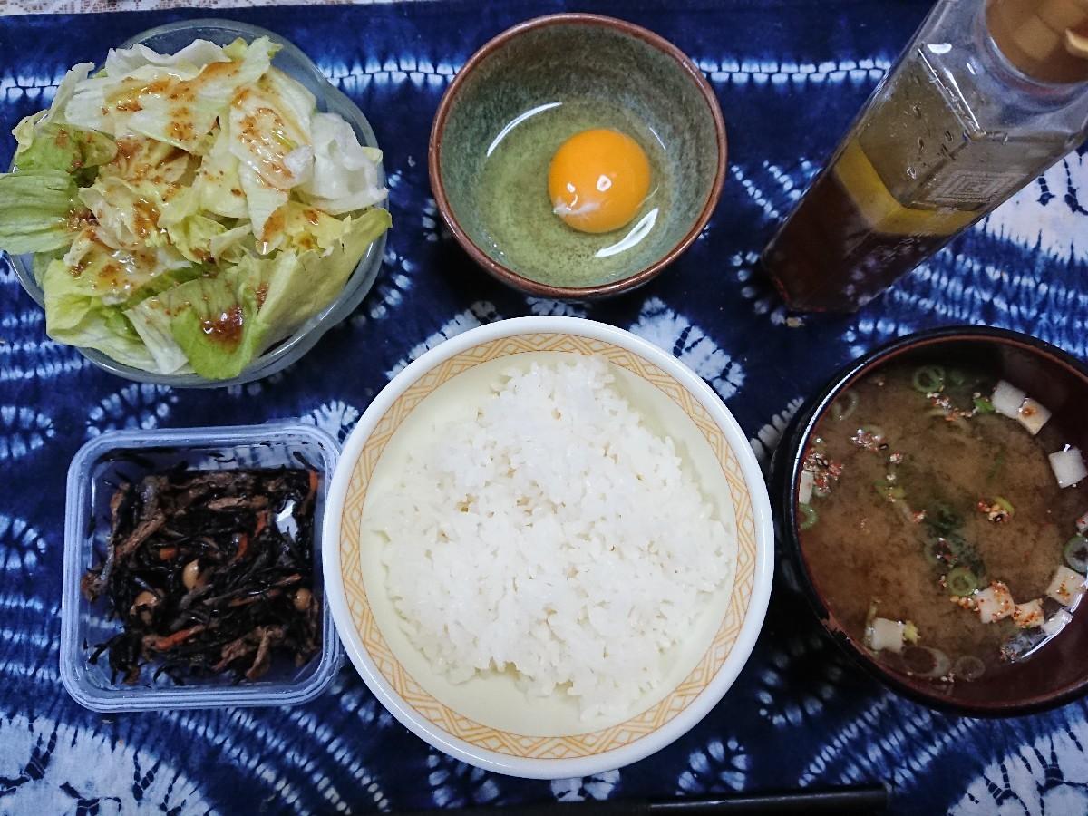 11/3  トリュフ醤油で卵かけご飯定食@自宅_b0042308_18215900.jpg