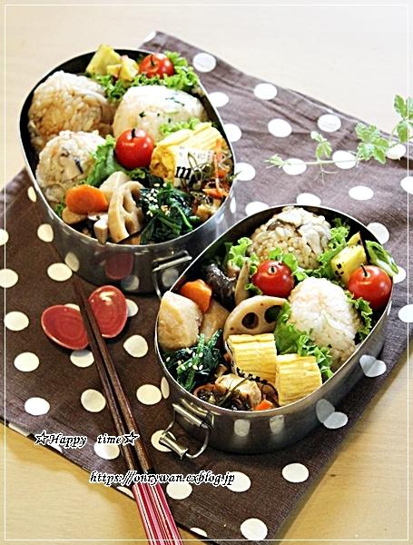 おむすび弁当とパン焼き・ソフトフランス♪_f0348032_17215485.jpg