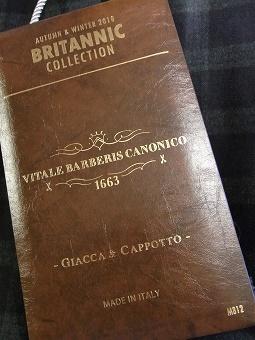 2018‐2019 秋冬の新着! 「VITALE BARBERIS CANONICO」 編_c0177259_23143939.jpg