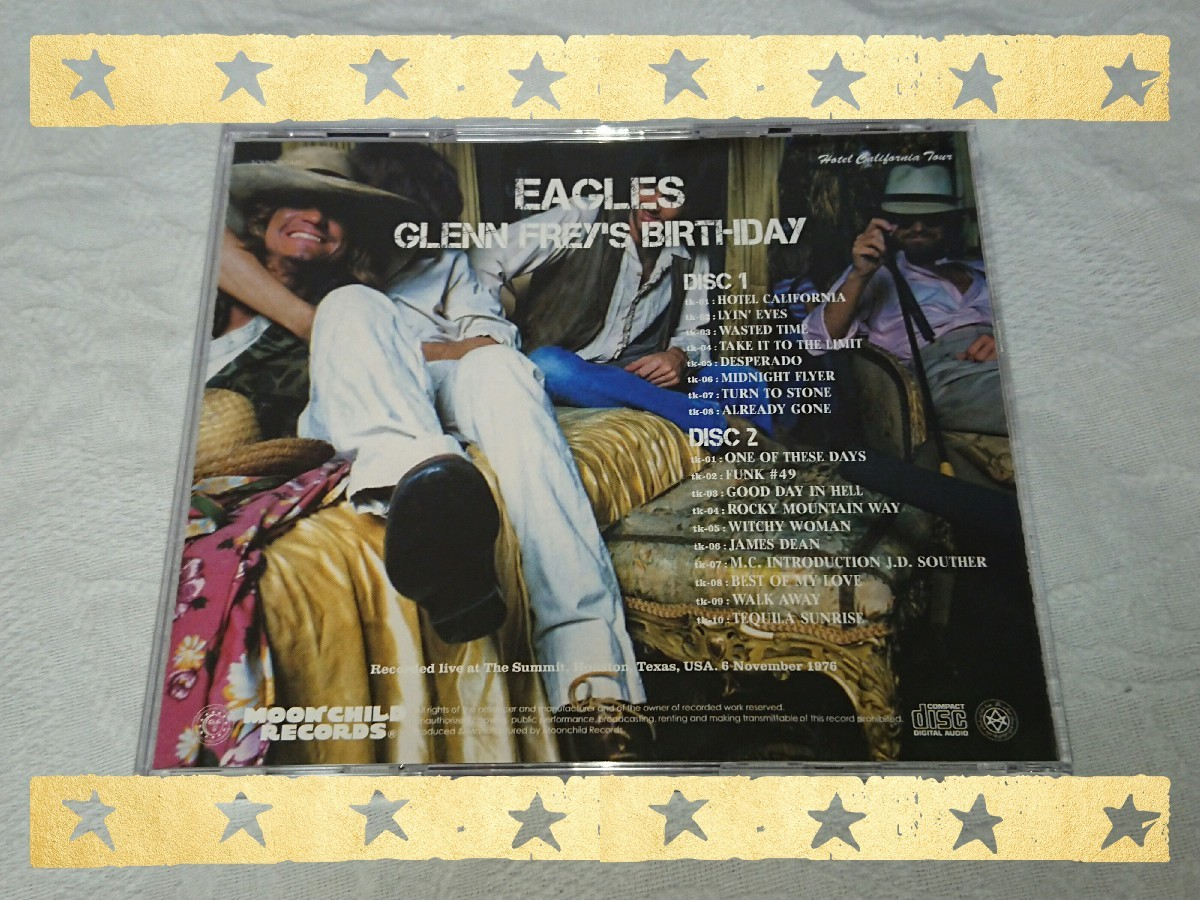 EAGLES / GLENN FREY\'S BIRTHDAY_b0042308_01442521.jpg