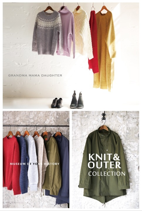 OUTER & KNIT COLLECTION ~グランマオリジナル編~_e0247148_17373355.jpg