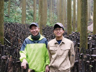 原木しいたけ 平成30年度の『原木しいたけ』本日より予約受付スタートしました!_a0254656_19170866.jpg