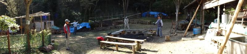 枯れ松 大木の伐採準備・・・孝子の森_c0108460_17555797.jpg