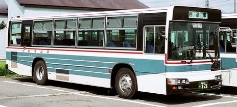 南越後観光バス 日野KL-HT2PMEA +日野車体_e0030537_00445057.jpg