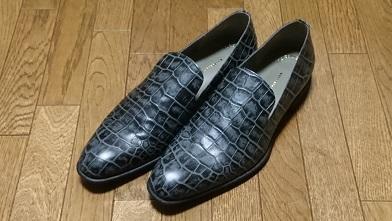革靴を買ったのだが…『イボーナ』オペラシューズ_c0364960_08391666.jpg