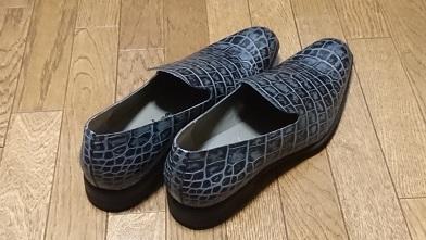 革靴を買ったのだが…『イボーナ』オペラシューズ_c0364960_08392126.jpg