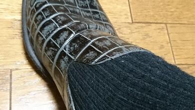 革靴を買ったのだが…『イボーナ』オペラシューズ_c0364960_08392468.jpg