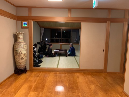 先日、TBSの当館撮影がありました!_e0154524_18254166.jpg