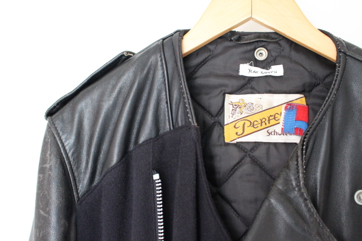 YEAH RIGHT!! RIDERS LONG COAT/SCHOTT_f0170424_13584403.jpg