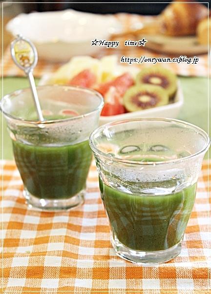 ポテトコロッケ弁当と青汁生活初めてみました♪_f0348032_16510156.jpg