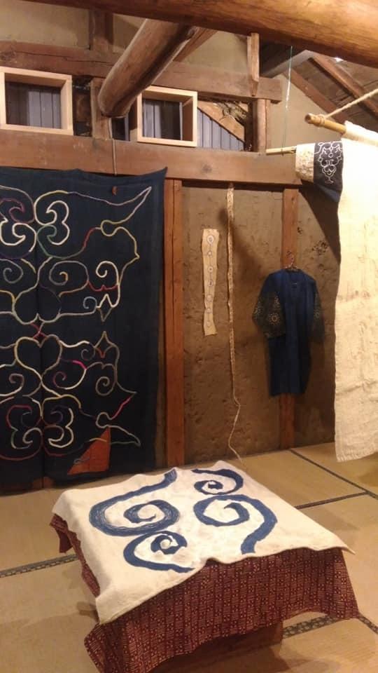 四辻藍美アイヌ刺繍展「一本の縄から始まる 2018秋」_a0162646_14154817.jpg