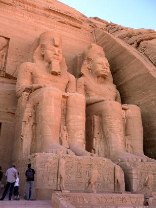 古代エジプト アブ・シンベル神殿_c0011649_01330086.jpg