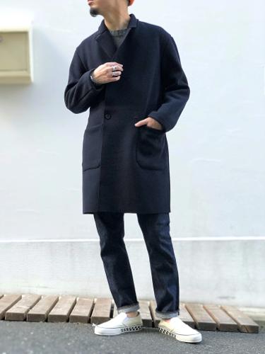 上質コートも、気取らず品良く。_d0227059_17380250.jpg