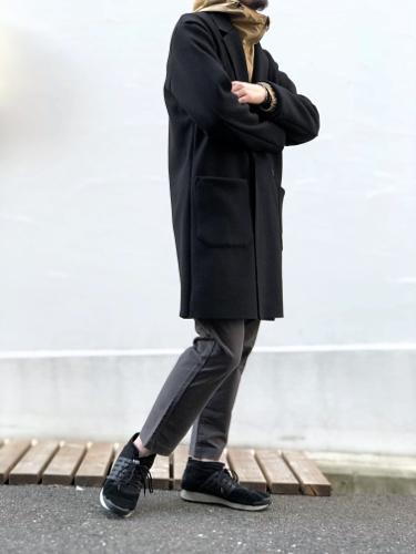 上質コートも、気取らず品良く。_d0227059_17401579.jpg