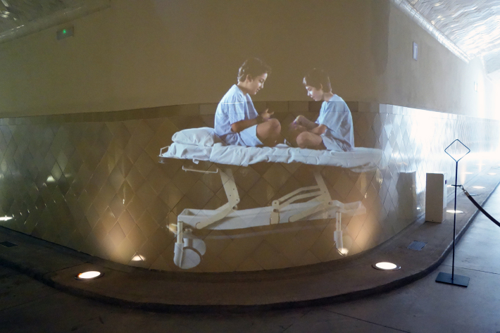 サン・パウ病院 Hospital de Sant Pau リュイス・ドメネク・イ・ムンタネー Sant Pau Recinte Modernista 世界遺産 2018年9月 バルセロナの旅(4)_f0117059_22065146.jpg