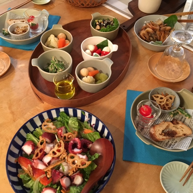 welcome   食材の話題で盛り上がって♪_a0165160_19171160.jpg