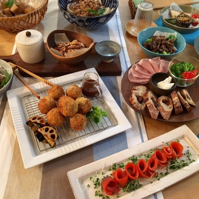 welcome   食材の話題で盛り上がって♪_a0165160_19231528.jpg