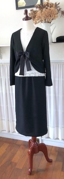 リボンボレロ&スカートのセット_f0182167_15023965.jpg