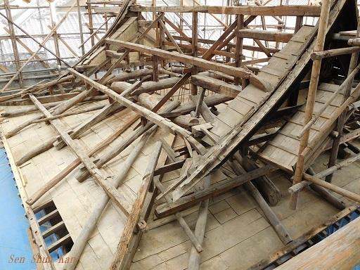 文化財建造物の保存修理 (黄檗山萬福寺 鐘楼・西方丈) 2018年11月2日_a0164068_15462338.jpg