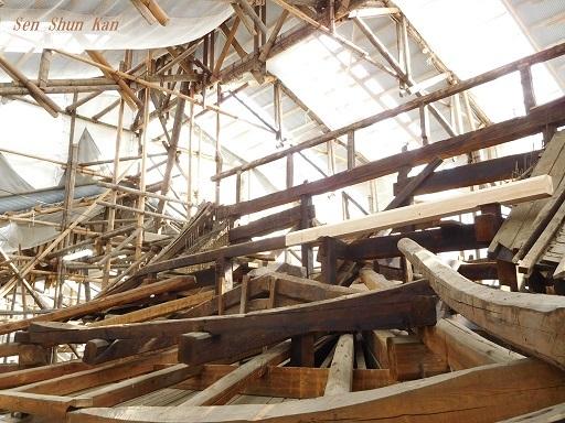 文化財建造物の保存修理 (黄檗山萬福寺 鐘楼・西方丈) 2018年11月2日_a0164068_15471799.jpg