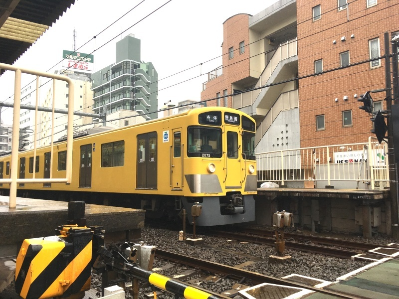 黄色にメーテルに衝撃のピンク!懐かしの西武鉄道池袋線。_d0367998_11362056.jpg