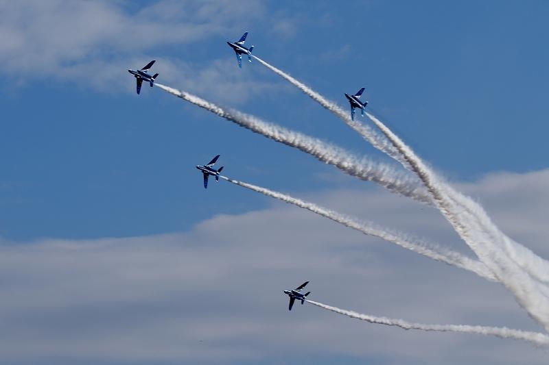 本日12時20分、都心上空にブルーインパルス(臨時のお知らせ)_b0291402_07501578.jpg