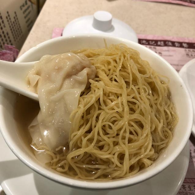 18年10月 香港8☆遅いランチは池記のワンタン麺_d0285416_23580603.jpg