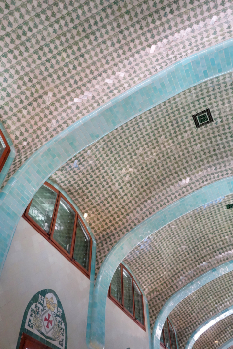 サン・パウ病院 Hospital de Sant Pau リュイス・ドメネク・イ・ムンタネー Sant Pau Recinte Modernista 世界遺産 2018年9月 バルセロナの旅(4)_f0117059_16231133.jpg