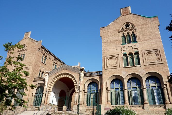 サン・パウ病院 Hospital de Sant Pau リュイス・ドメネク・イ・ムンタネー Sant Pau Recinte Modernista 世界遺産 2018年9月 バルセロナの旅(4)_f0117059_16241004.jpg