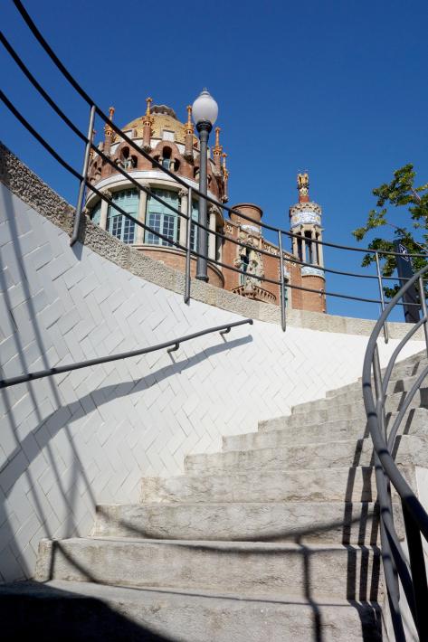 サン・パウ病院 Hospital de Sant Pau リュイス・ドメネク・イ・ムンタネー Sant Pau Recinte Modernista 世界遺産 2018年9月 バルセロナの旅(4)_f0117059_16241576.jpg